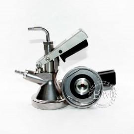 Головка разливочная Micro Matic, тип G Safety Coupler, (со штуцерами)
