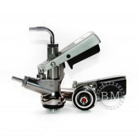 Головка разливочная Micro Matic, тип S Safety Coupler, (со штуцерами)