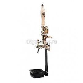 Башня металлическая OLD PUB на 1 продукт, с длинной керамической ручкой.