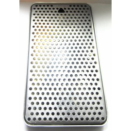 Каплесборник металлический, 300х180х30, нерж. сталь