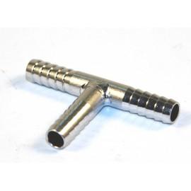 Переходник «Т» (нерж. сталь) 7х7х7 мм.