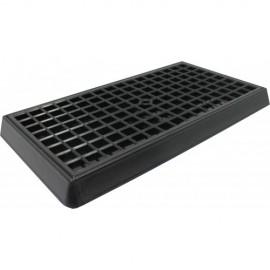 Каплесборник пластиковый черный 170х300