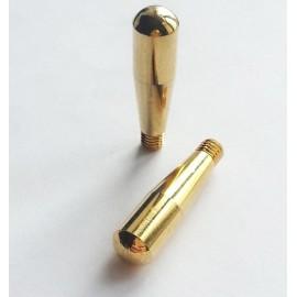 Ручка штока компенсатора крана, латунь
