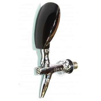 Рукоятка пивного крана фарфоровая (черная)
