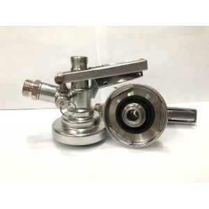 Головка разливочная тип F (KeyKeg) с декомпрессионным клапаном