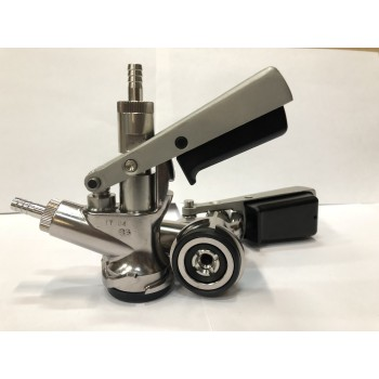 Головка разливочная Micro Matic, тип D Safety Coupler, (со штуцерами)